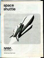 Vintage NASA Space Shuttle Brochure Pre-First Flight Marshall SFC