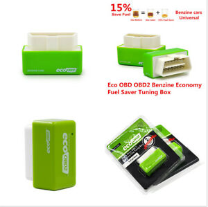 Plug & Drive Ready OBD2 II Chip Tuning Box Fuel Saver Remaping Car Computer ECU