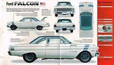 1962/1963/1964 FORD FALCON Racer SPEC SHEET/ Brochure