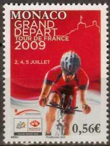 """T2249 Radrennen """"Tour de France"""" Monaco 2955 **/MNH"""