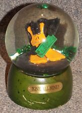 "Warner Bros Daffy Duck ""Mine All Mine"" Snow Globe"
