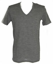 T-shirt intimo V seta lana cot JULIPET a.600948 taglia 6/XXL c.135M GRIGIO