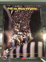 11/11 1978 PITT VS. WEST VIRGINIA BACKYARD BRAWL PROGRAM TONY DORSETT