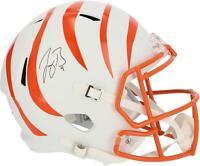 Autographed Joe Burrow Bengals Helmet Fanatics Authentic COA Item#10922986