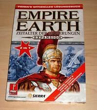 Empire Earth-la era de las conquistas 2 en 1 prima's oficial solución libro