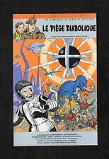"""CARTE DE BLAKE ET MORTIMER """"LE PIEGE DIABOLIQUE"""" (2000)"""