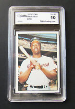 1978 TCMA HANK AARON CARD #290 GMA 10 GEM MINT HOF Atlanta Braves