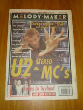 MELODY MAKER 1993 JUN 26 STEREO MCS U2 BABES IN TOYLAND