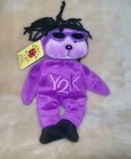 Beanie Kids WYATT THE Y2K BEANIE NMT  BK 106 Rare Retired April 2000