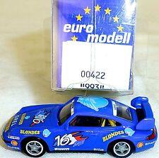Porsche 911 993  Gauloises Nr16 IMU:EUROMODELL 00422 H0 1:87 OVP #HO1   å