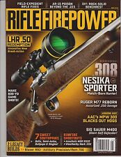 Rifle Firepower Magazine May 2014.