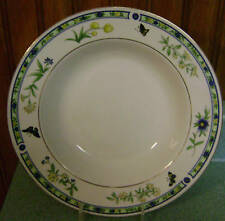 Lynns China Woodland Butterfly Rimmed Soup Bowl