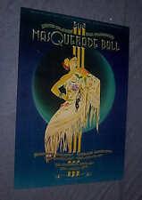 ORIGINAL 1979 MASQUERADE BALL Randy Tuten art