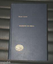 Elementi di fisica - Mario Ageno - Edizioni Einaudi 1956