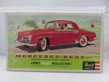 Revell MERCEDES-BENZ 190SL Roadster 1/25 Scale Plastic Model Kit STARTED 1960