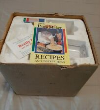 POPEIL PASTA MAKER P400 (NEW OTHER) NEVER USED PARTS SEALED IN ORIGINAL BOX