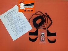 1955 1956 1957 Chevy 2 Door Hardtop Upper Rear Quarter Relining Kit 2070 New
