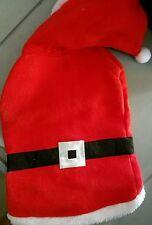 NWT PET DOG Christmas Holiday SANTA CLAUS COAT Costume Winter SZ Med SEE Chart