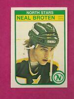 1982-83 OPC # 164 NORTH STARS NEAL BROTEN  ROOKIE EX-MT CARD (INV#6981)