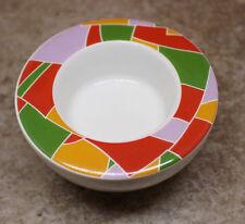 Schirnding Barvaria Porcelain Tea Light Candle Holder Round Colorful Vintage