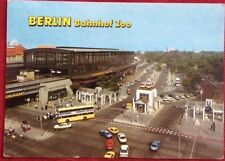 Berlin Bahnhof Zoo Postcard used and posted