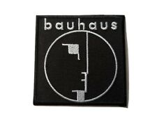 Bauhaus Patch Sew / Iron On Music Festival Embroidered Badge
