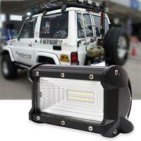72W LED Flood Light Work Light Fog Lights Headlight For Trunk Boat Tractor I3N3