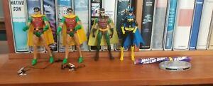 Lot of 4 DC Universe Classics Superheros Robin Batgirl