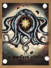 A Perfect Circle Poster Print Bill Graham San Francisco California Tool Signed
