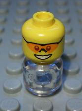 Lego Figur Zubehör Kopf Mann                                             (607 #)