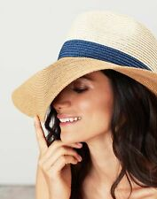 Joules Womens Sia Wide Fedora Hat - FRENCH NAVY in One Size