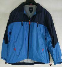 Gap Kids Youth Boys Jacket Wind Breaker Coat XXL 2XL Blue Zip Up Pockets Gift