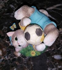 Enesco Calico Kitten *Friends Are A Goal Worth Saving*