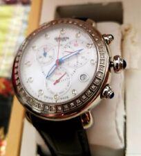 """GRUEN """"Silver""""GSS 26-04  Swiss Made 57 Diamond Sapphire Crystal 39mm Watch$ NEW!"""