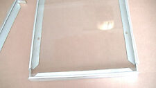 Solar Panel Glass and Frame Set, 13.5 x 19.5 inch, for use with 1 x 6 cells.