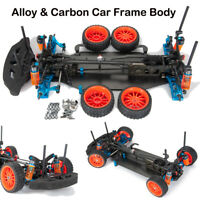 Alloy & Carbon Touring Car Frame Body For RC 1/10 Drift Racing Car Shaft Drive
