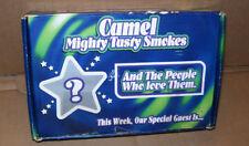 Camel Cigarette Promotional Box Shot Glass,Pool Cube,Hat Pin 2 Bonus Matchbooks