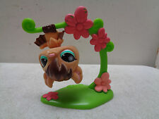 LITTLEST PET SHOP SPECIAL EDITION FUZZY TAN BROWN BAT AQUA GREEN EYES #820