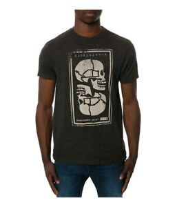 KR3W Mens The Muerta Graphic T-Shirt, Black, Small