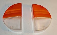 Triumph Stag NEW pair of front side/indicator lamp lenses