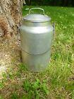 Vintage A Leyse Aluminum Milk Cream Pail Can Bucket Clean Bail Handle 4 quart