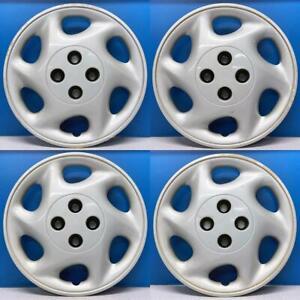 """1997-1998 Saturn S Series # 6009 15"""" Hubcaps / Wheel Covers OEM # 21013027 SET/4"""