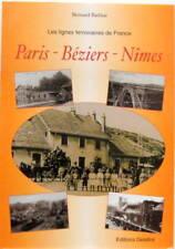 LIGNES FERROVIAIRES DE FRANCE PARIS BEZIERS NIMES TRAIN SNCF LOCOMOTIVE BATHIAT