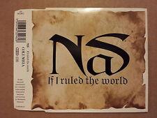 CD # mcd # NAS # If I Ruled The World (Imagine That) # 1996 # vg-/vg+