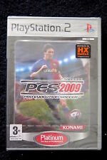 Konami Pro Evolution soccer 2009 Ps2 nove