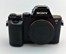 SONY Alpha a7 24.3MP Digital Camera Body Only Black Fair Shape