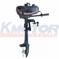Fishing Boat Engine Boat Engine 2-Stroke Outboard Motor CDI System 3.5HP 2.5kw