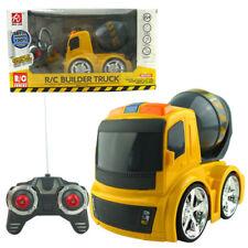 Builder Truck Concrete Mixer 4CH Construction Remote Control RC Kid Child Toy