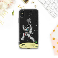 Spaceman iPhone XR Cover Funny iPhone X XS 7 8 Plus  Cute Case Silicone SE 12