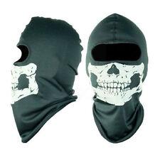 Ghost-Biker Skull Hood Face Mask-Motorrad-Ski Balaclava CS Sport-  ~